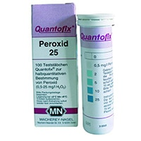 Bandelettes test, nitrates, peroxyde