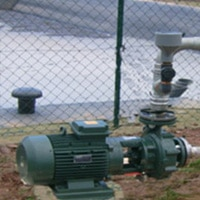 Groupe centrifuge, eaux usées, sans matière solide