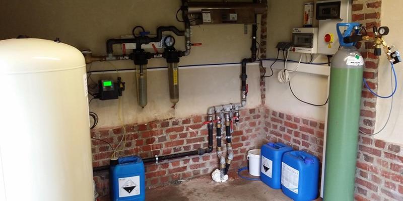 Projets d'installation et suivi de projet de captage d'eau