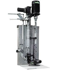 Pompe à arbre long, idéal pour les taux de matière sèche très élevés