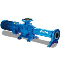 Pompe à rotor excentré, pompe volumétrique, pression très élevée