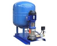 Surpresseur haute pression à réservoir vertical